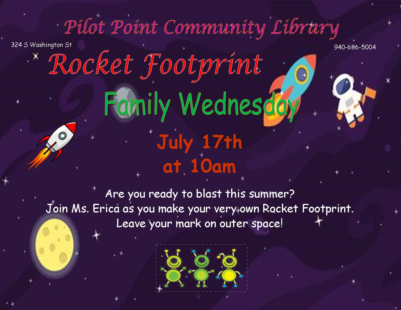 2019 Foot Rocket flier