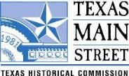 Texas Main Street Texas Historical Commission logo